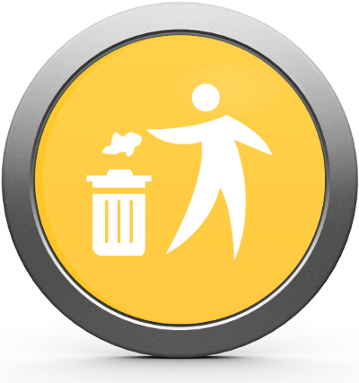 Parking Maintenance Litter Picking Icon