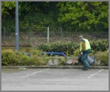Car park Maintenance Litter Picking