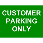 Generic Car Park Signs